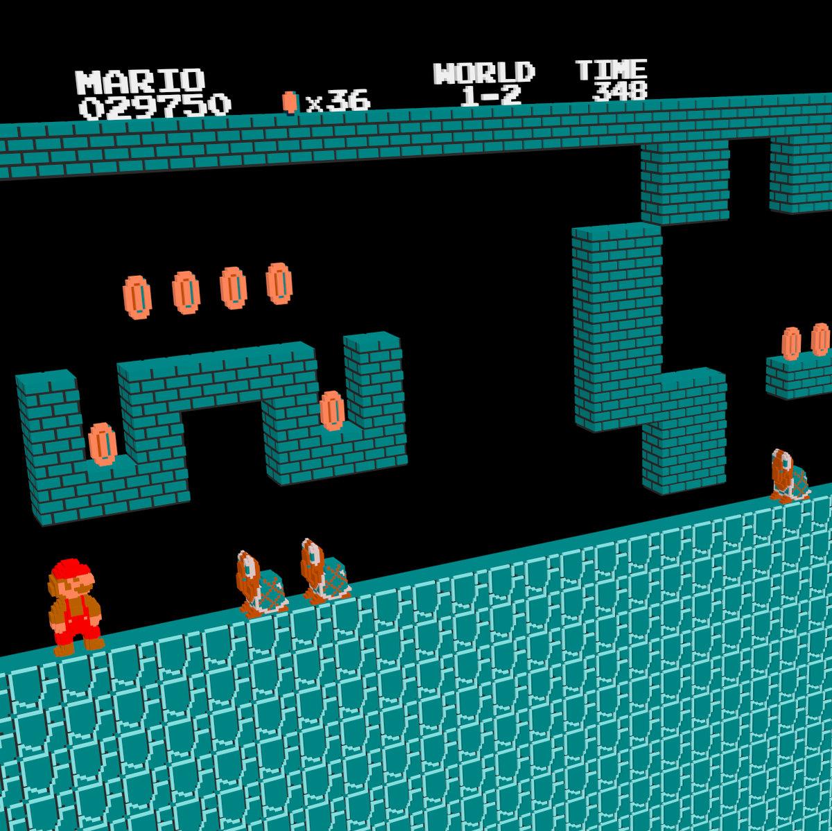 Super Mario Bros  - Underground Theme (Remix) [Arachno
