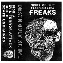 NIGHT OF THE FLESH-EATING FREAKS cover art