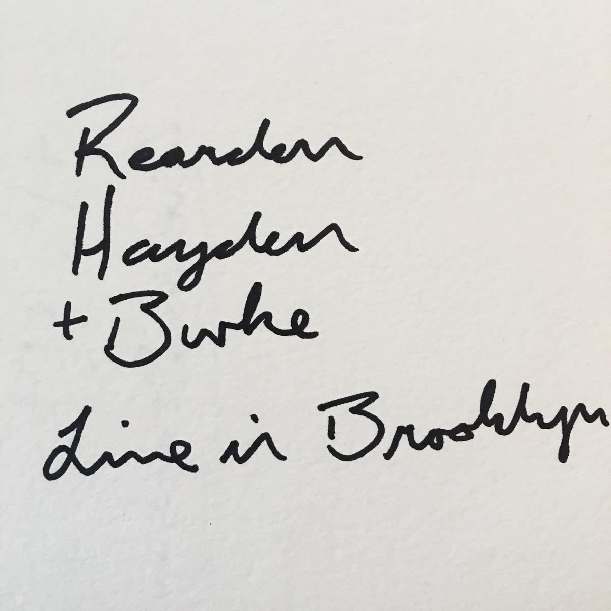 Reardon, Hayden, and Burke | Steve Burke