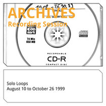 Solo Loops 10-08-1999 - 26-10-1999 cover art