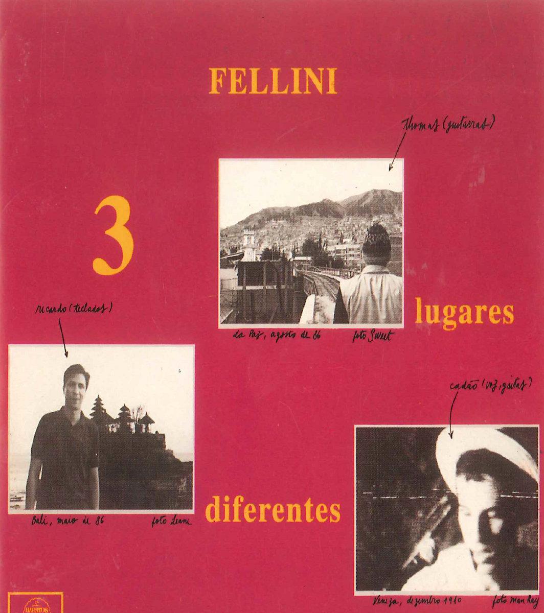 Zum Zum Zum Zazoeira (live bonus track)   Fellini