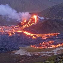 Keilir eruption original soundtrack cover art