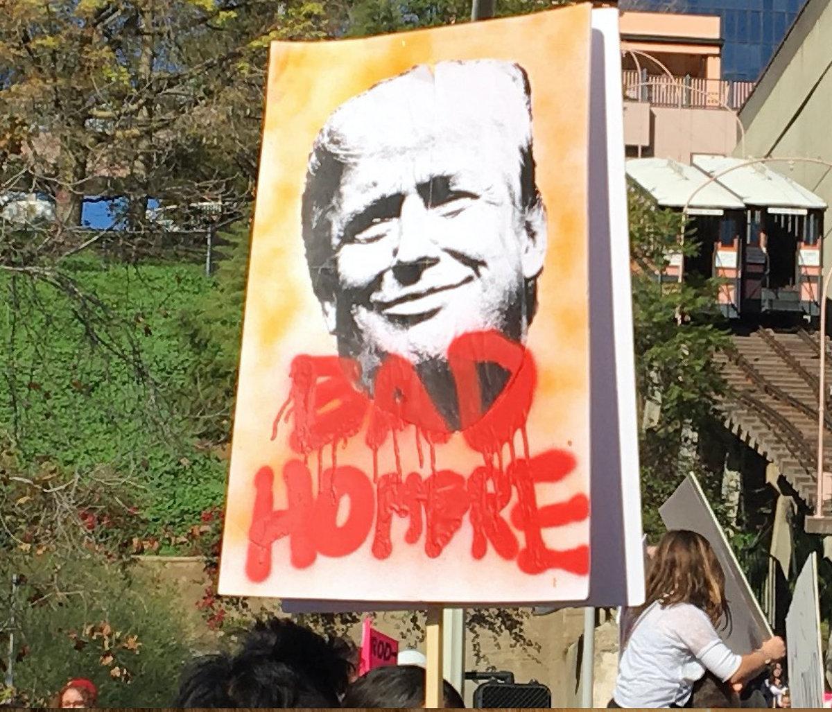 Bad Hombre by Doug Elkins