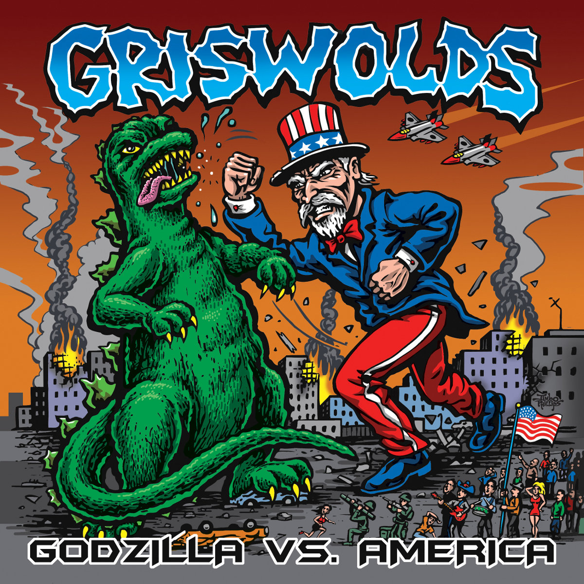 Godzilla vs  America | 502 South