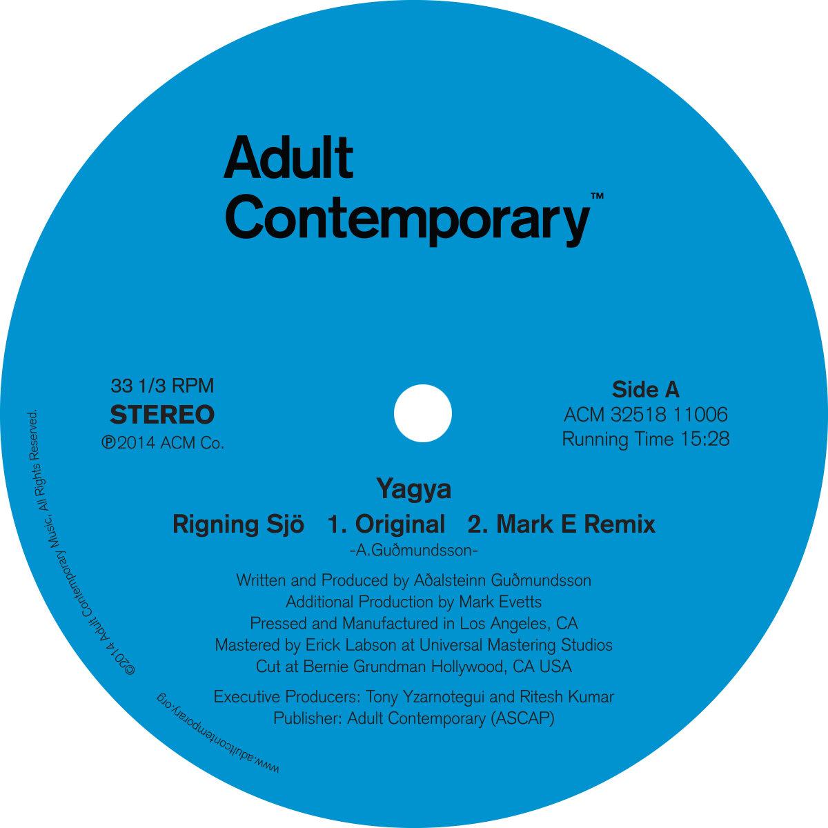 Rigning Sjö (Dennis Kane's E–Train Mix) | Adult Contemporary