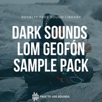 Geofón Sounds Sample Pack! 10 GB For Dark Drone Sound Effects & Sound Design cover art