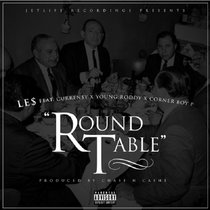 Le$ Ft Curren$y, Roddy & Cornerboy P - Round Table cover art