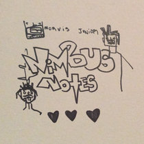 Nimbus Notes (blak heart emoji) cover art