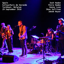 Spain 29 September 2018 Turnhout, Belgium Cultuurhuis de Warande With Petra Haden, Jakob Hoyer cover art