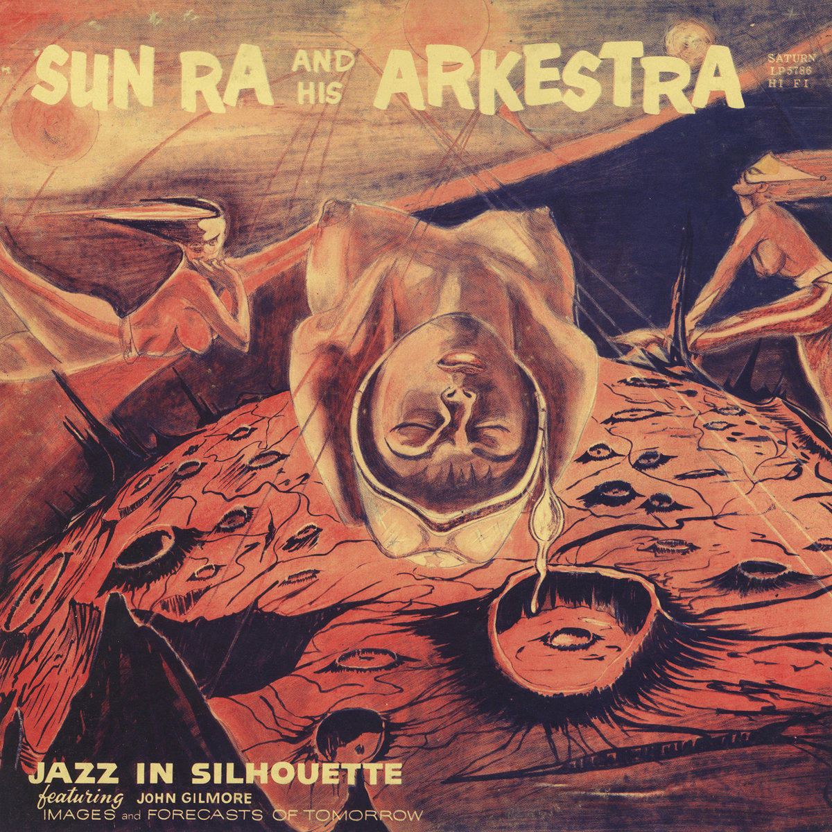 Image result for sun ra jazz in silhouette album cover high resolution