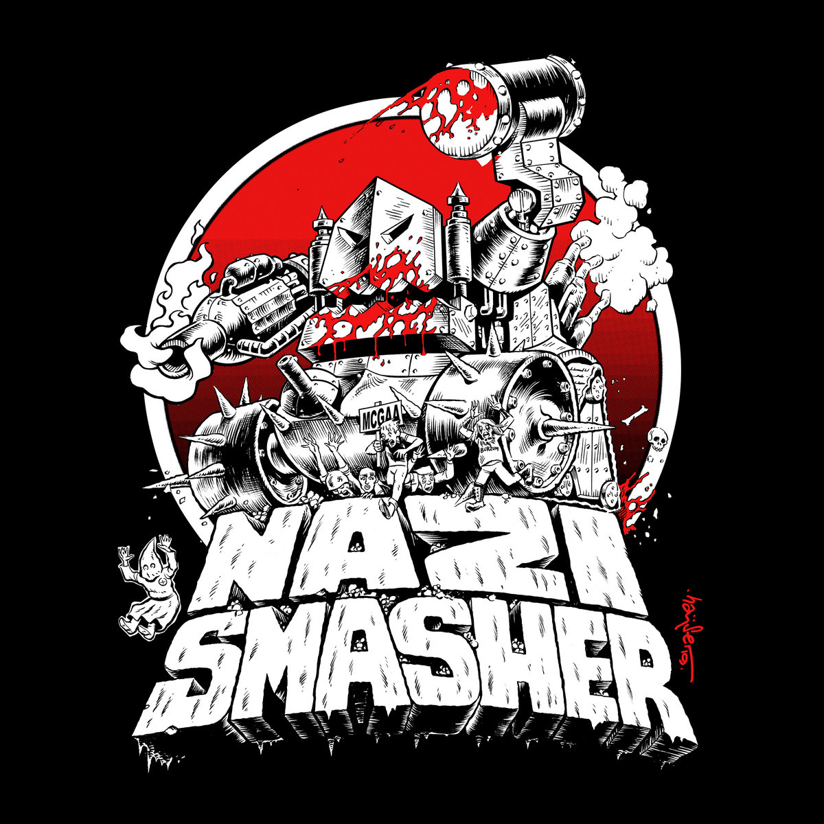 Nazi Smasher   Ghoul