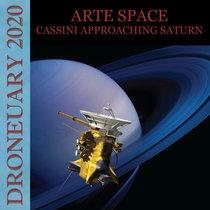 Cassini Approaching Saturn cover art