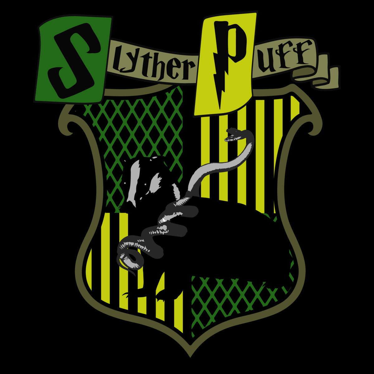 Defense Against The Dark Arts Slytherpuff