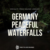 Waterfall Sound Effects Germany! Royalty Free White Noise Sounds cover art