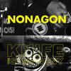 "Nonagon / Knife The Symphony Split 7"" Cover Art"