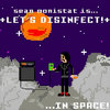 +Let's Disinfect!+ ...In Space! Cover Art