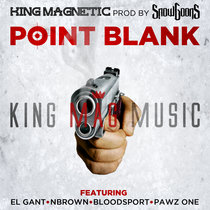 Point Blank (ft. El Gant, NBrown, Bloodsport and Pawz One) cover art