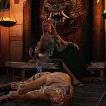 Mystique cover art