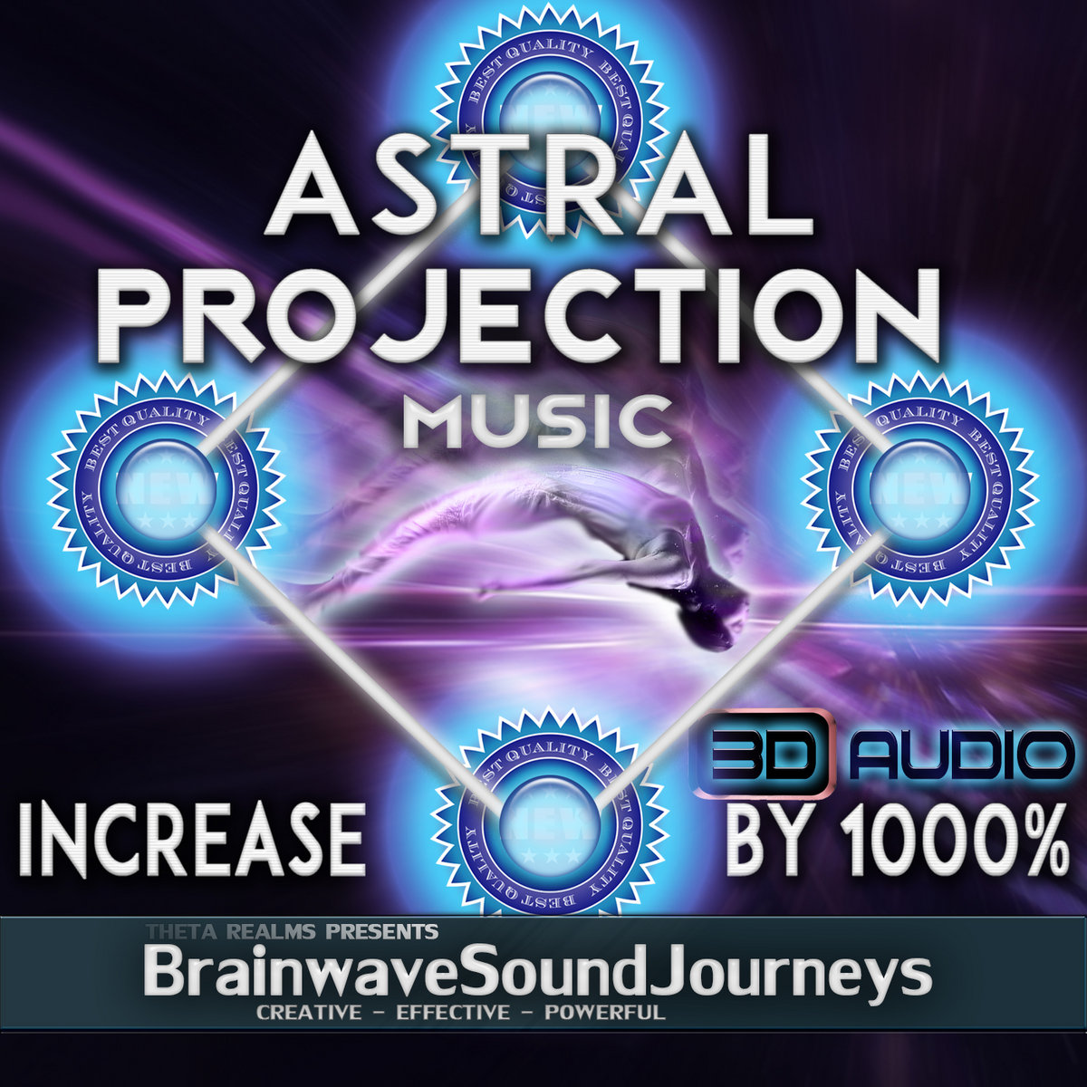✧3D Audio ASMR Astral Projection Music✧1000% INCREASE POTENTIAL
