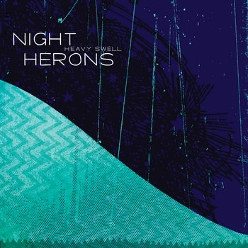 Heavy Swell by Night Herons