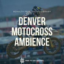 Royalty Free Motocross Sound Effects Library   Pre Release   Wildtronics SAAM & Stereo/Mono Dish cover art