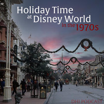 Seasonal 8 - Holiday Time at Disney World in the 1970s - New for 2020 cover art