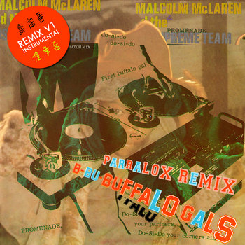 Malcolm McLaren and the World's Famous Supreme Team - Buffalo Gals (Parralox Remix V1 Instrumental)