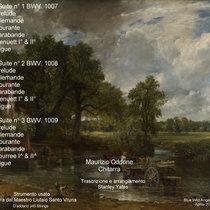 Johann Sebastian Bach - Complete CelloSuites Vol. 1 cover art