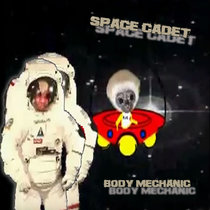 Spacemonkey (The Space Cadet EP) cover art