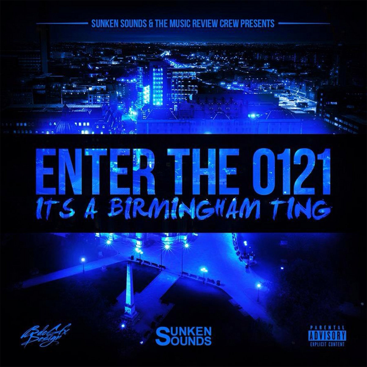 enter the 0121 its a birmingham ting by sunken sounds various