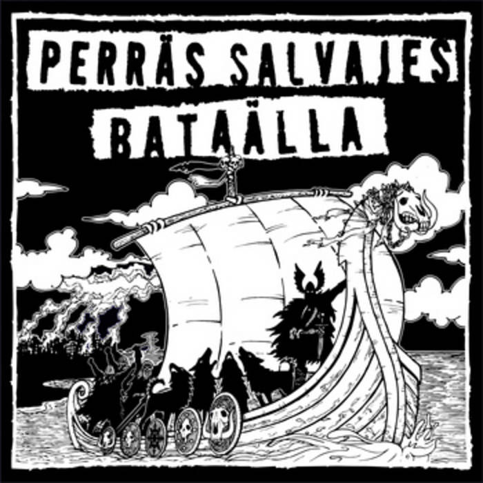 Split ep with BATÄALLA cover art