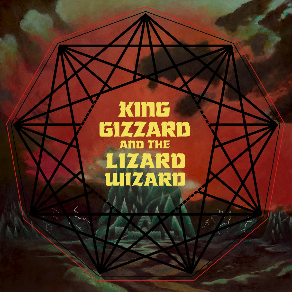 Cover King Gizzard & The Lizard Wizard  - Gamma Knife