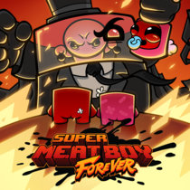 Super Meat Boy Forever:  OST cover art