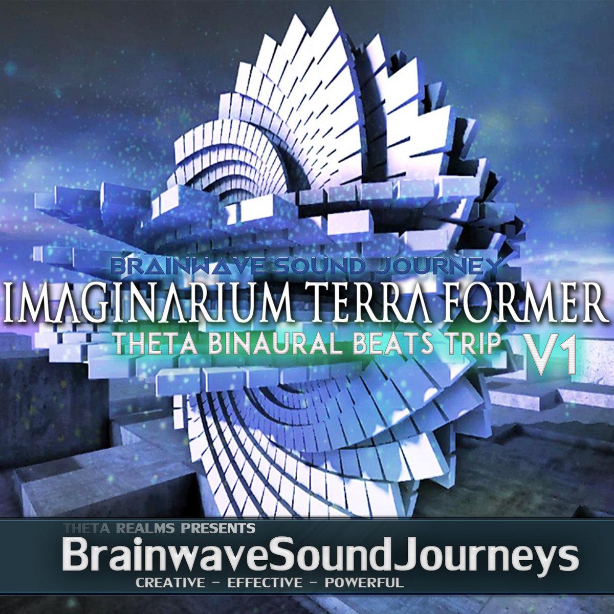 ⇋ IMAGINARIUM TERRA FORMER ⇌ Theta Binaural Beats TRIP   POWERFUL