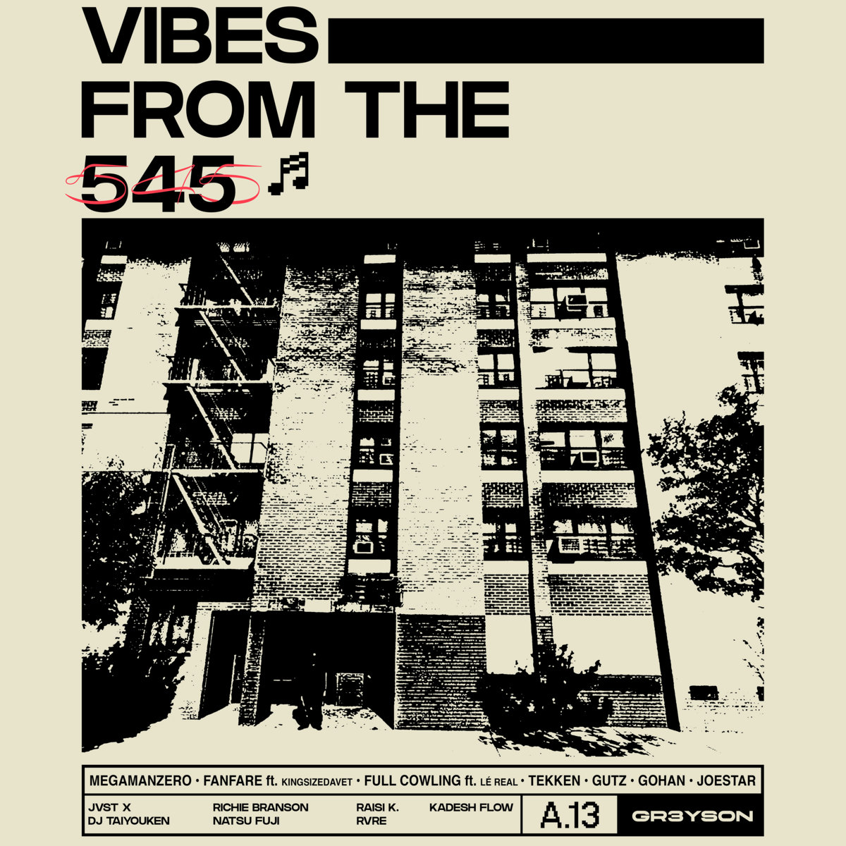 Review: GR3YS0N – Vibes From The 545