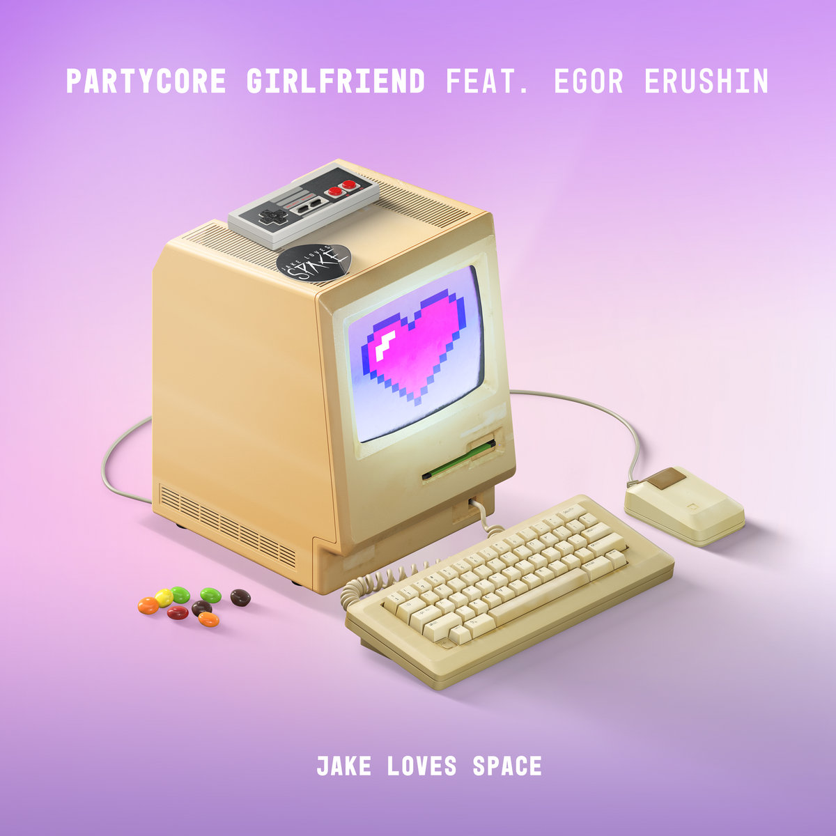 Jake Loves Space - Partycore Girlfriend [single] (2018)