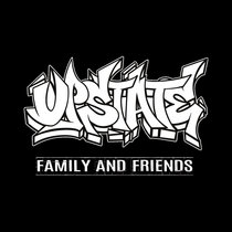 Upstate Family and Friends Comp cover art