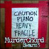Caution Piano Heavy Fragile (Swarm 3) Cover Art