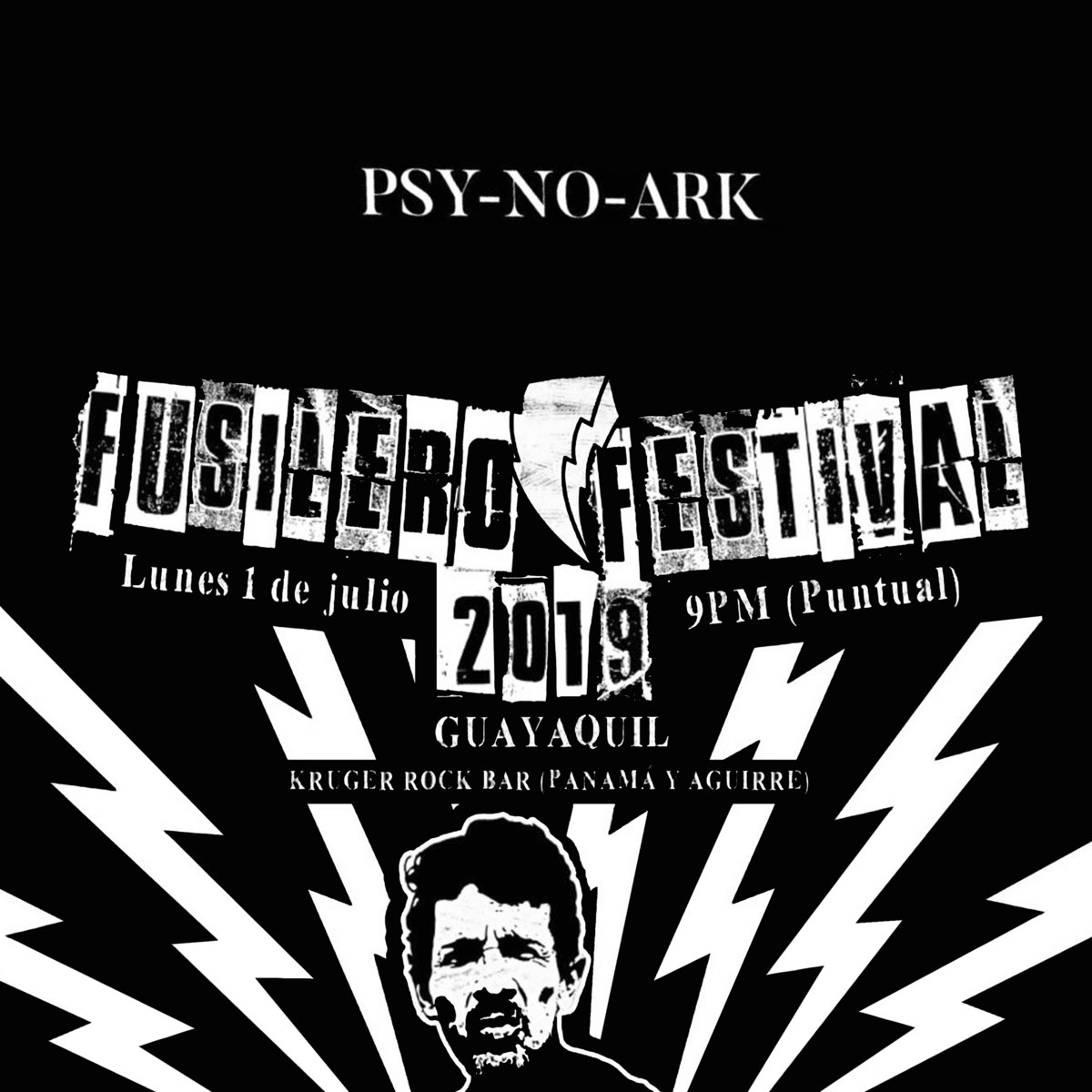 Psy-No-Ark (Live @Fusilero Fest bootleg) by Psy-No-Ark