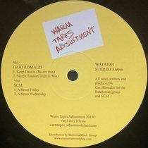 Warm Tapes Adjustment Vol. 1 cover art