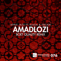 Amadlozi (Boet Quality Remix) cover art