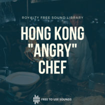"""Hong Kong Sounds """"The Angry"""" Chef Ringing Kitchen Bell cover art"""