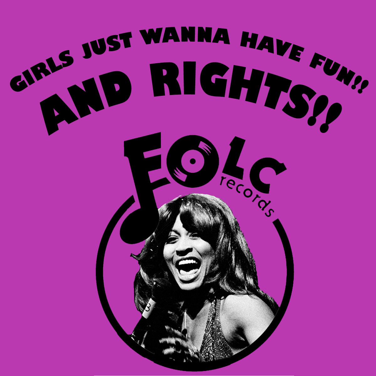 girls just wanna have fun and rights folc records