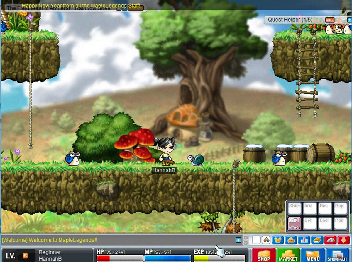Playing Maplestory 1 1 2018 Functional