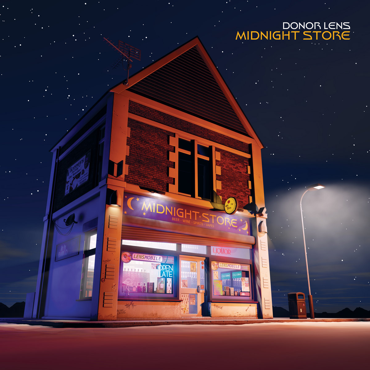 New Release: Donor Lens – Midnight Store