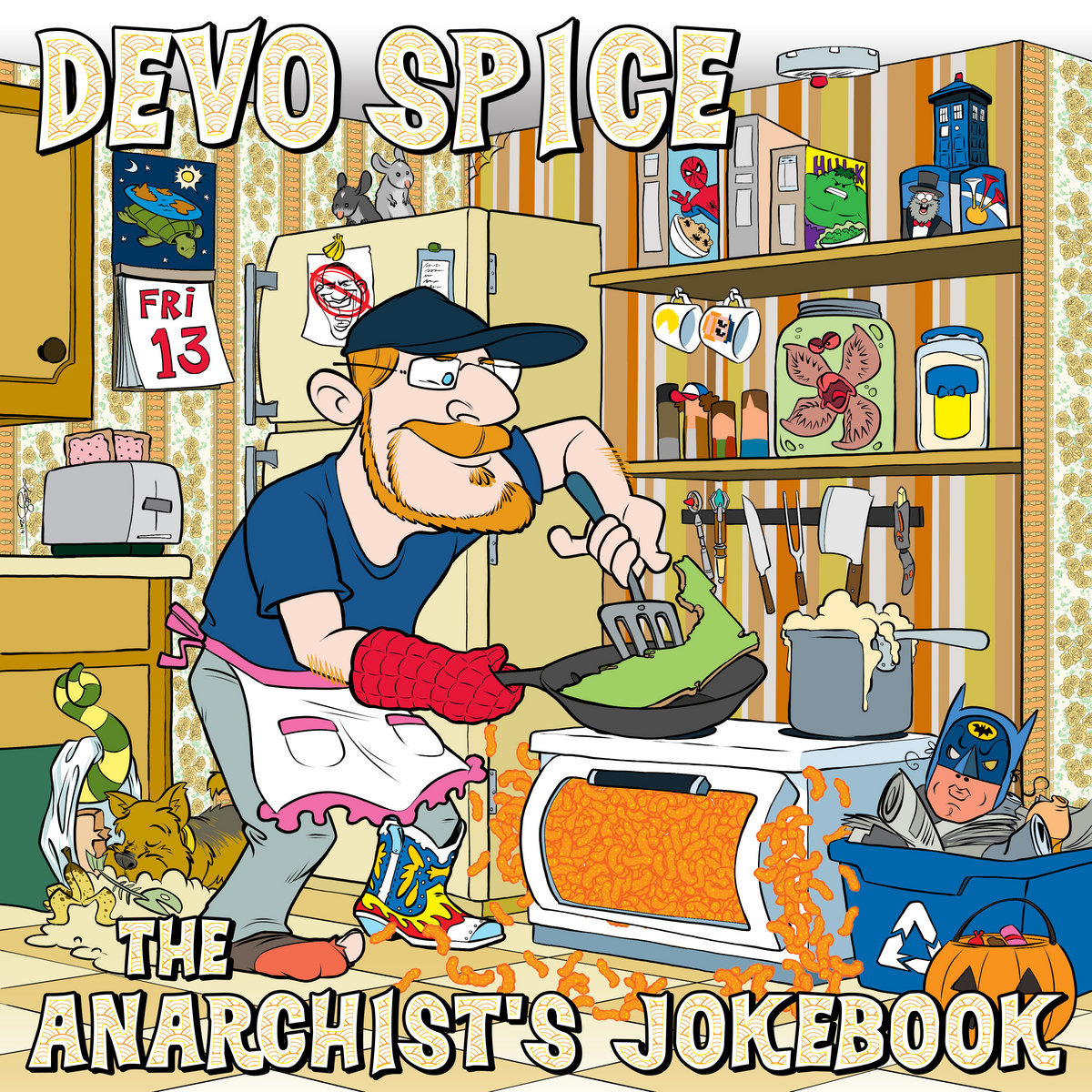The Anarchists Jokebook Devo Spice