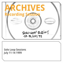 Solo Loop Sessions 11-14 07 1999 cover art