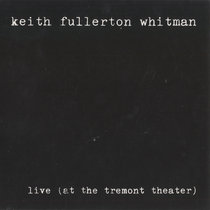 Live (at the Tremont Theater) cover art