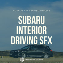 Subaru Outback 2019! Car Driving Interior Sound Effects cover art