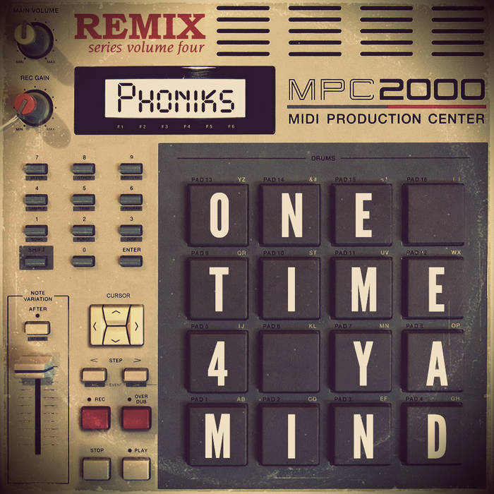 One Time 4 Ya Mind cover art